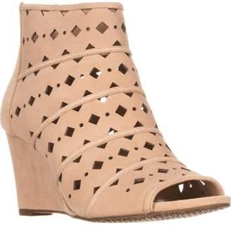 MICHAEL Michael Kors Uma Wedge Women US 7 Nude Wedge Sandal