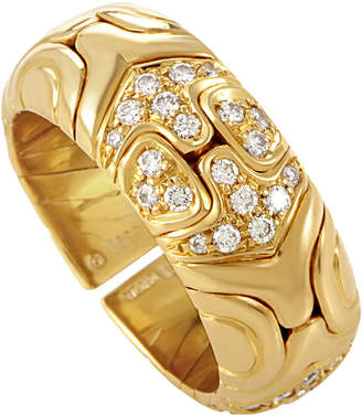 Bvlgari Heritage Bulgari Alveare 18K 0.65 Ct. Tw. Diamond Band Ring