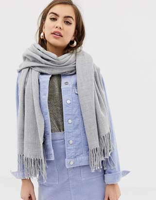 Monki scarf in light gray