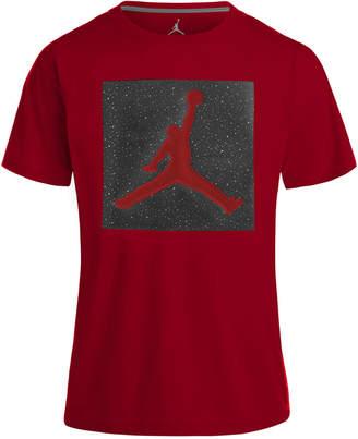 Jordan Jumpman-Print Cotton T-Shirt, Big Boys