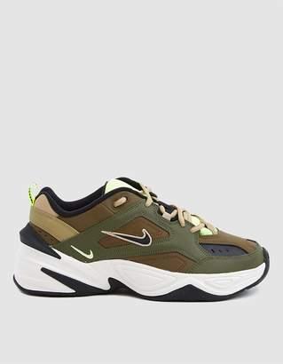 Nike M2K Tekno Sneaker in Medium Olive