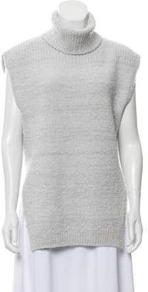 Eleventy Wool-Blend Sleeveless Sweater w/ Tags grey Wool-Blend Sleeveless Sweater w/ Tags