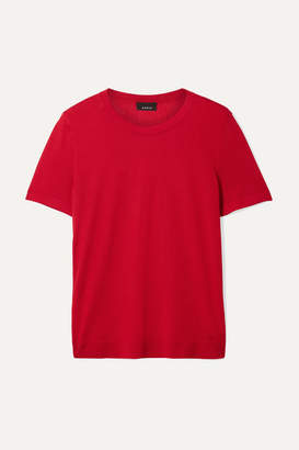 Akris Cashmere And Silk-blend Top - Red
