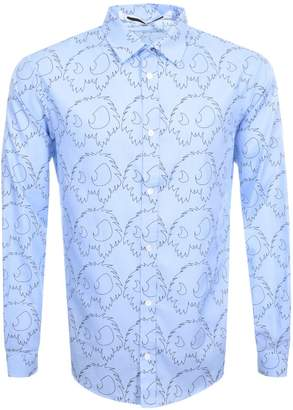 Alexander McQueen MCQ Sheehan Shirt Blue