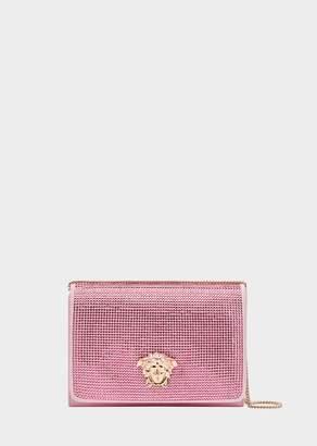 Versace Crystal Embellished Evening Bag