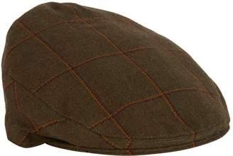 Purdey Short-Peak Waterproof Tweed Cap