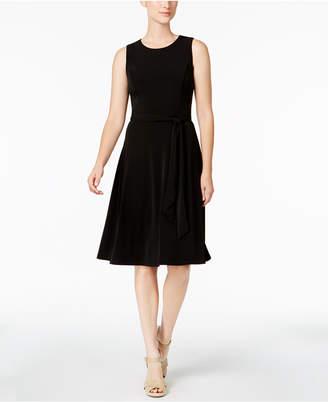 Charter Club Petite Knit A-Line Dress