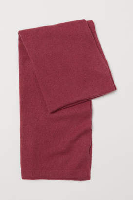 H&M Cashmere Scarf - Red
