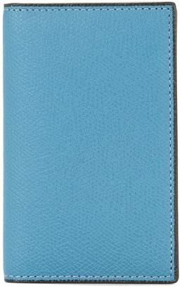 Valextra foldover card holder