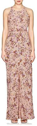 By Ti Mo byTiMo Women's Bouquet-Print Crepe Maxi Dress