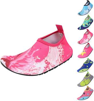 Padgene Kids Swim Water Shoes Quick Dry Barefoot Sports Shoes Aqua Socks for Boys Girls Toddler