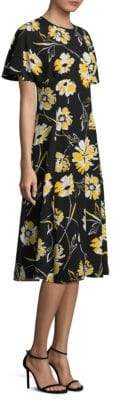 Michael Kors Silk Floral Dress