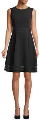 Calvin Klein Sleeveless Fit & Flare Dress