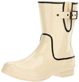 Chooka Women's Waterproof Mid-Height Printed Rain Boot with Memory Foam