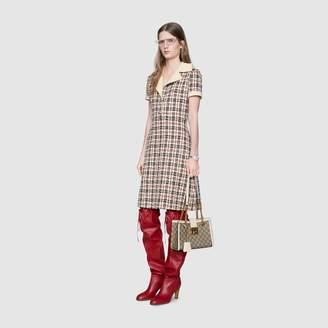 Gucci Tweed check dress