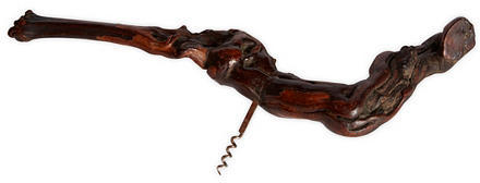 Van Den Akker NY Large Grapewood Corkscrew