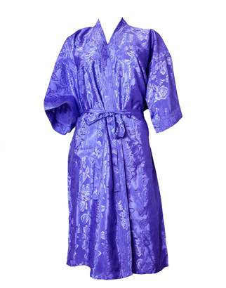 720d4ba484 Artiwa Unisex Lightweight Silk Kimono Bathrobe for Women   Men Rose