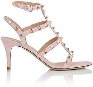 Valentino Women's Rockstud Suede Sandals