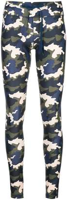 The Upside camouflage print leggings