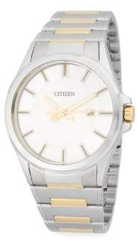 Citizen Two-Tone Stainless Steel Bracelet Watch