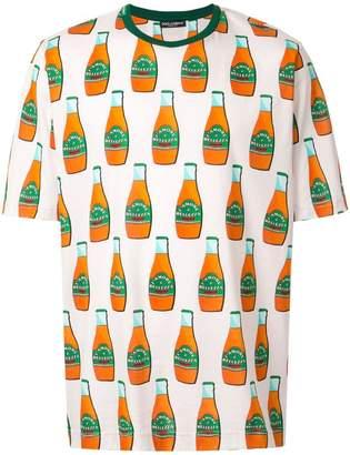 Dolce & Gabbana bottle print T-shirt