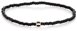 Luis Morais Men's Striped-Bead Bracelet