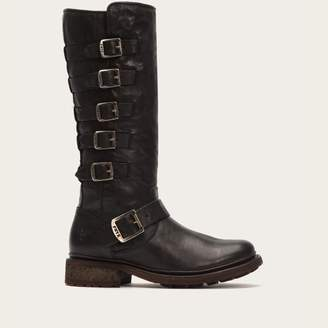 The Frye Company Valerie Belted Tall Shearling