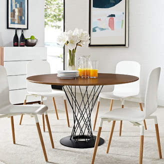 Corrigan Studio Dripping Springs Wood Top Dining Table