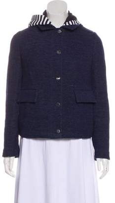 Tory Burch Layered Button-Up Jacket