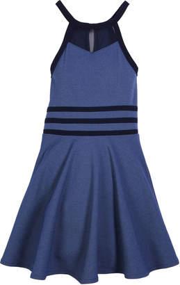 Sally Miller The Sky Halter Flare Dress, Size S-XL
