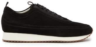 Grenson Sneaker 12 Suede Trainers - Mens - Black