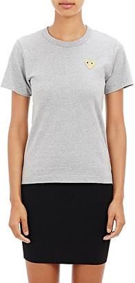 Comme des Garçons PLAY Women's Playful Heart T-Shirt $98 thestylecure.com