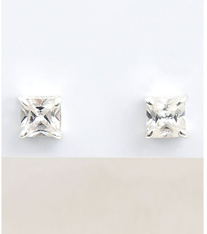 Carolee cz stud earrings