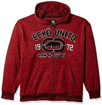 Ecko Unlimited Men's Rhino Raw & Uncut Fleece Hoodie
