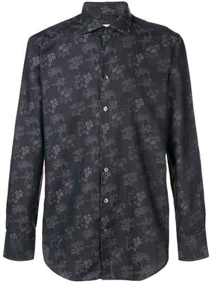Etro floral jacquard shirt