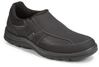 Rockport Get Your Kicks Leather Slip-On Sneakers