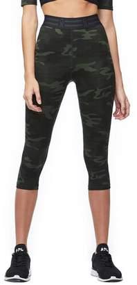 Good American Camo Icon Capri Leggings - Women's