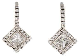 Kwiat 18K Silhouette Diamond Drop Earrings