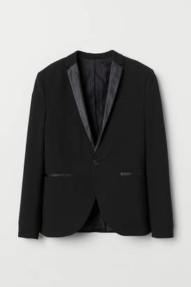 H&M Skinny Fit Blazer - Black