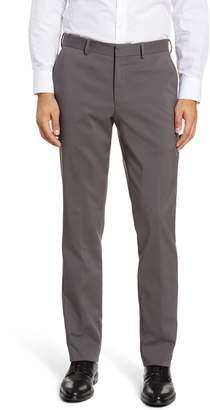 Nordstrom Trim Fit Flat Front Pants