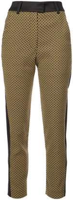 Palmer Harding Palmer / Harding micro geometric pattern trousers