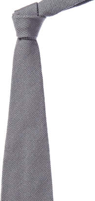 Tom Ford Ice Blue Silk & Wool-Blend Tie