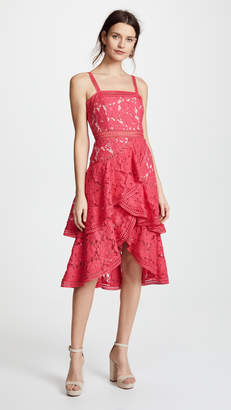 Alice + Olivia Angelita Lace Dress