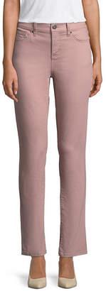 ST. JOHN'S BAY Secretly Slender Straight-Leg Jeans