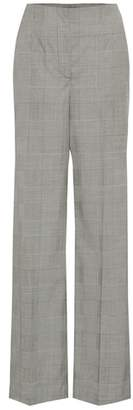 Proenza Schouler Checked stretch wool pants