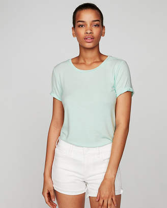 Express One Eleven Crew Neck Slim Tee