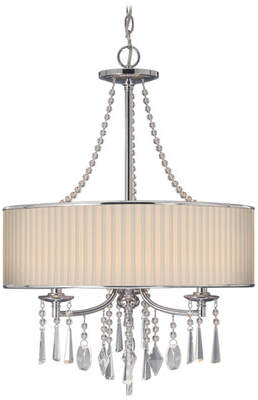 Willa Arlo Interiors Abel 3-Light Drum Chandelier