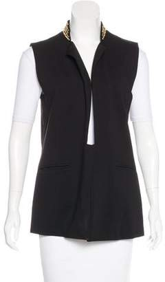 Thomas Wylde Studded Collared Vest w/ Tags
