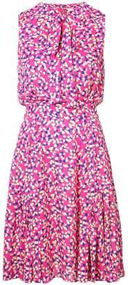 Carolina Herrera flared printed dress