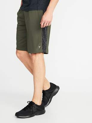 Old Navy Go-Dry Side-Panel Performance Shorts for Men - 10-inch inseam